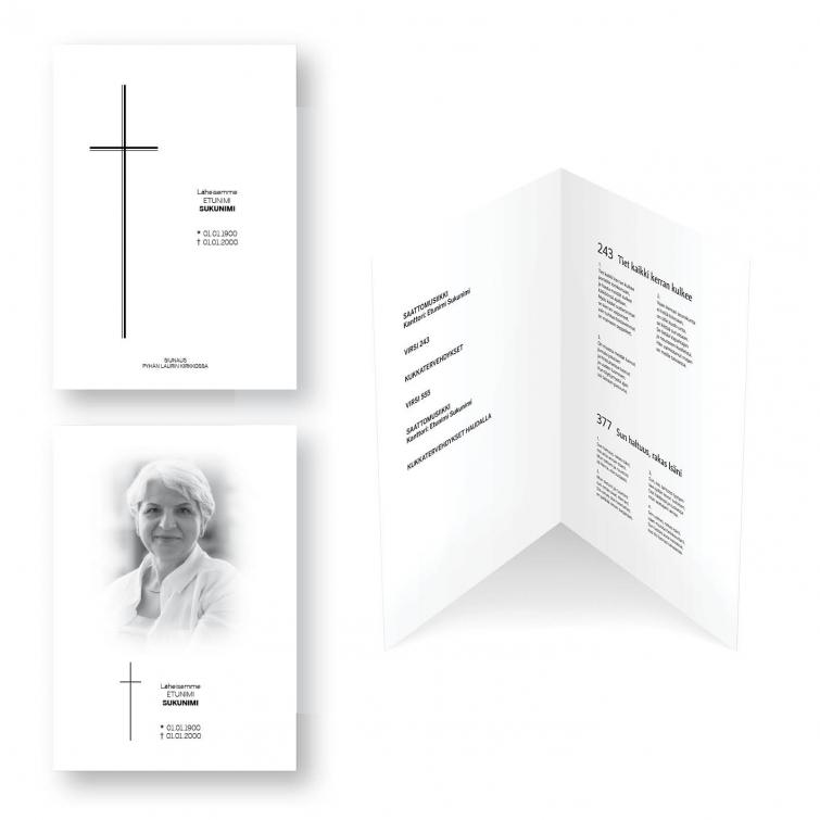hautajaisohjelma, siunausohjelma