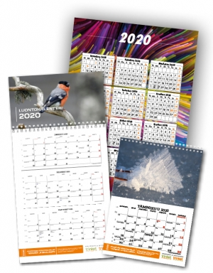 kalenterit, seinäkalenterit